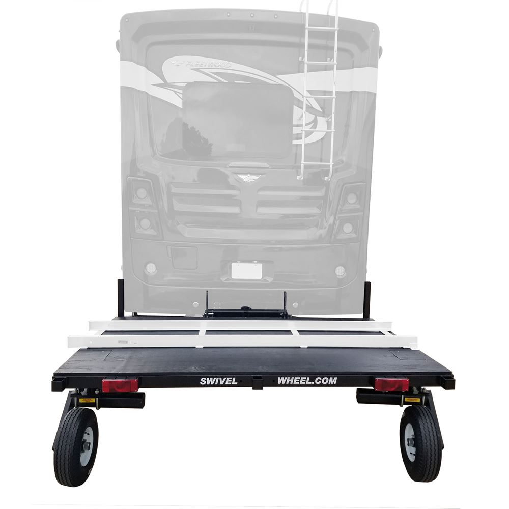 SW-58DW Swivelwheel Dual Wheel RV Fifth Wheel Carrier  8 W x 5 L
