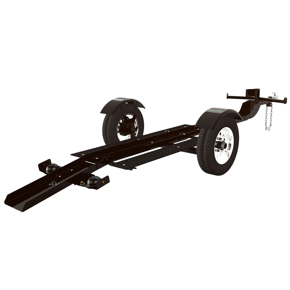 Stinger Extra Long Folding Motorcycle Trailer