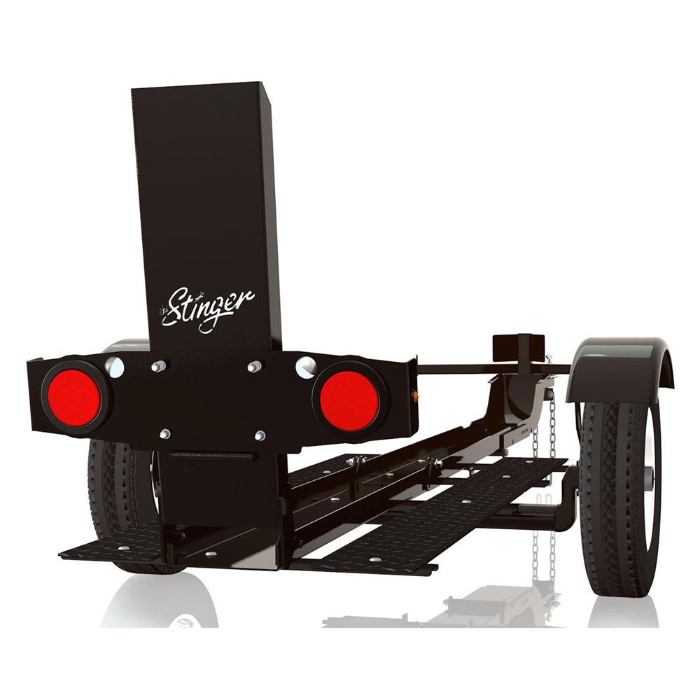 Stinger XL Folding Motorcycle Trailer