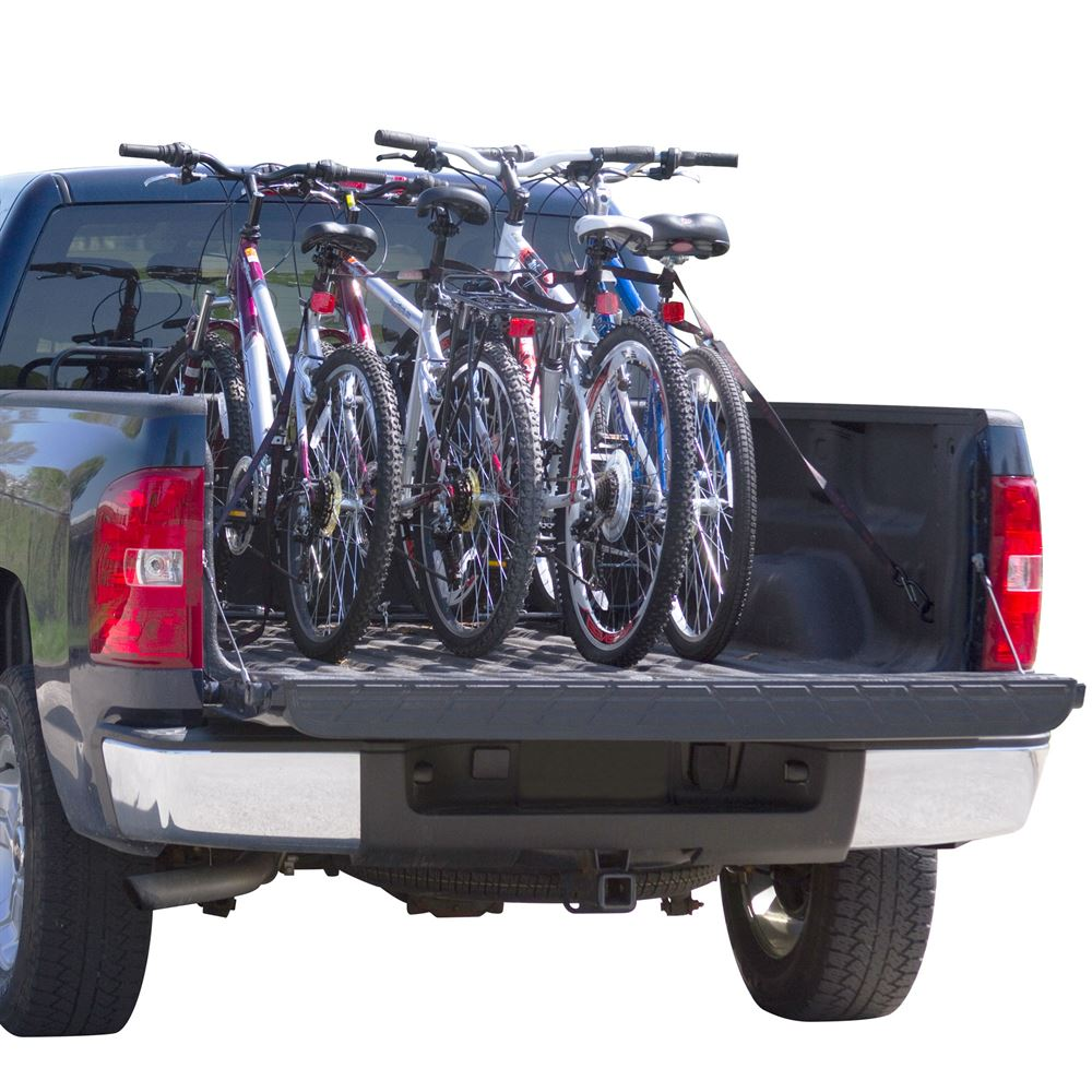 TBBC-4 Elevate Outdoor Truck Bed Bike Rack - 4 Bike