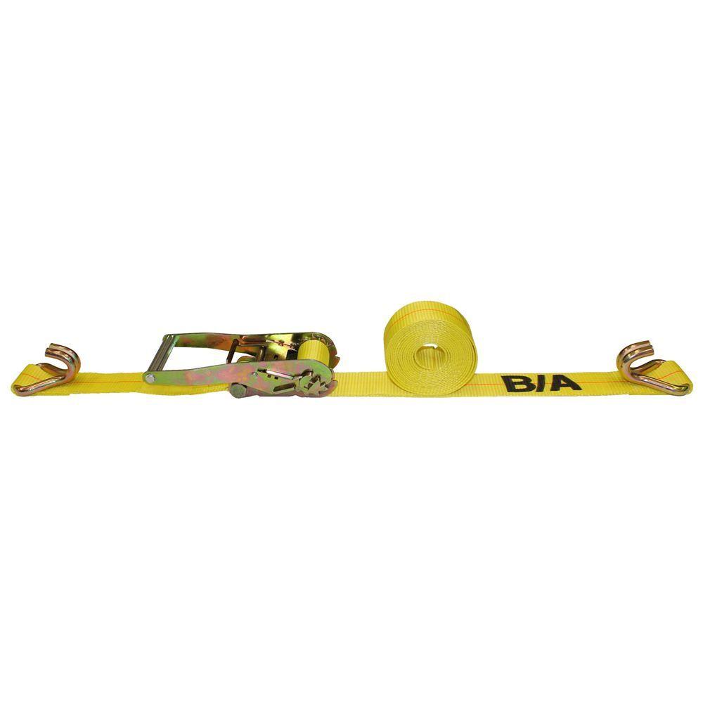 TD2-DJ BA Products 2 x 27 Ratchet Tie Down Strap with Double J Hooks