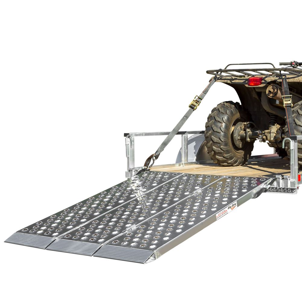 Big Boy EZ Rizer™ Aluminum Tri-Fold ATV Ramps