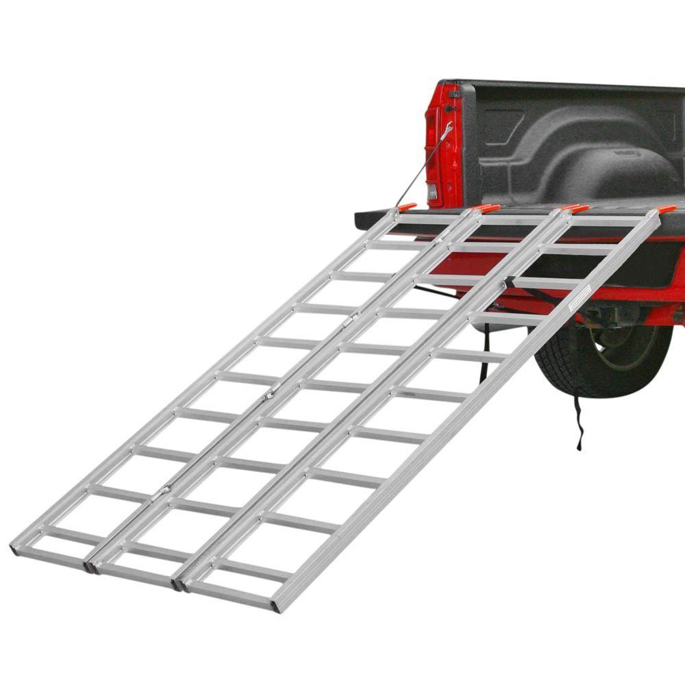 TF-8046 Black Widow Aluminum Tri-Fold ATV Ramp