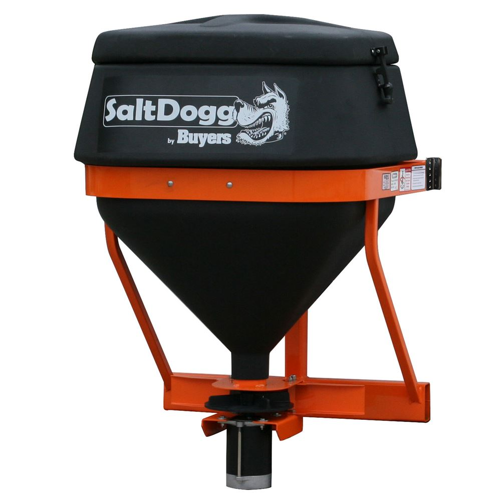 SaltDogg Gravity Feed Tailgate Salt Spreader for SUV or Truck with 14' Radius – 4.4 Cubic Foot Capacity