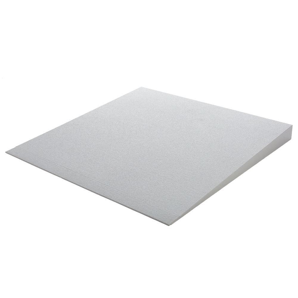 THFS-ADA-3 3 Maximum Rise - Silver Spring Foam Threshold Ramp - 800 lb Capacity - ADA Compliant