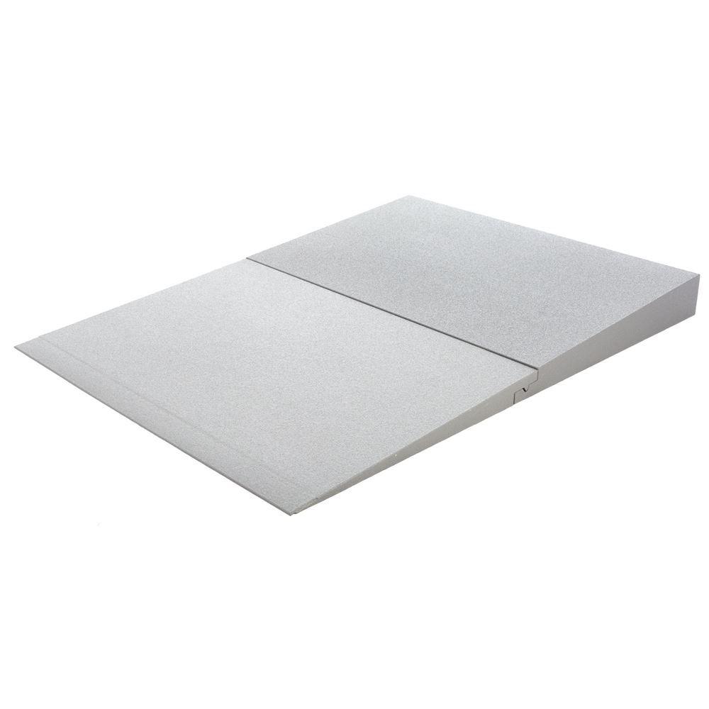THFS-ADA-4 4 Maximum Rise - Silver Spring Foam Threshold Ramp - 800 lb Capacity - ADA Compliant
