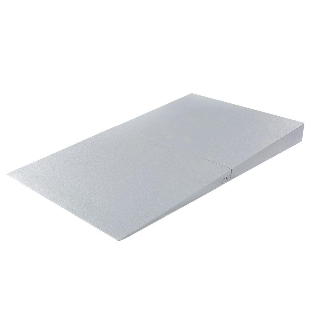 THFS-ADA-5 5 Maximum Rise - Silver Spring Foam Threshold Ramp - 800 lb Capacity - ADA Compliant