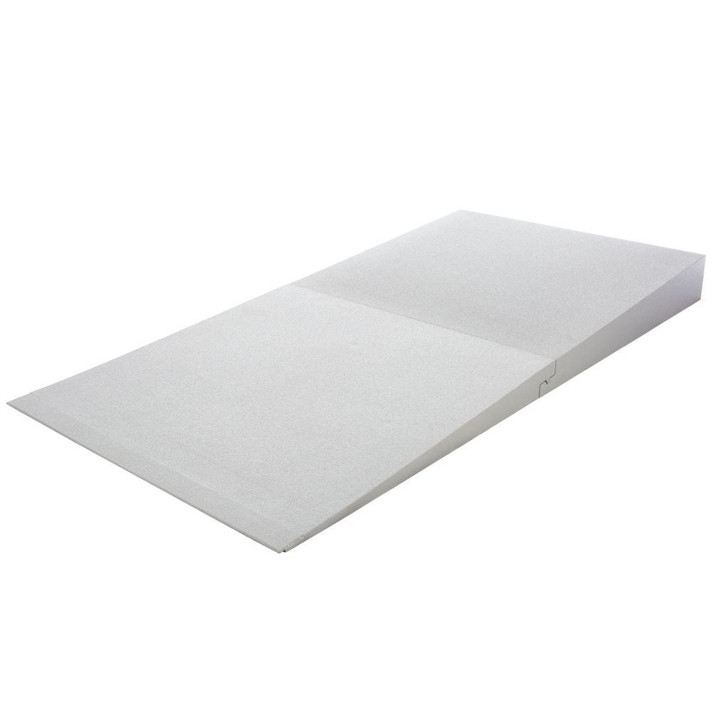 THFS-ADA-6 6 Maximum Rise - Silver Spring Foam Threshold Ramp - 800 lb Capacity - ADA Compliant
