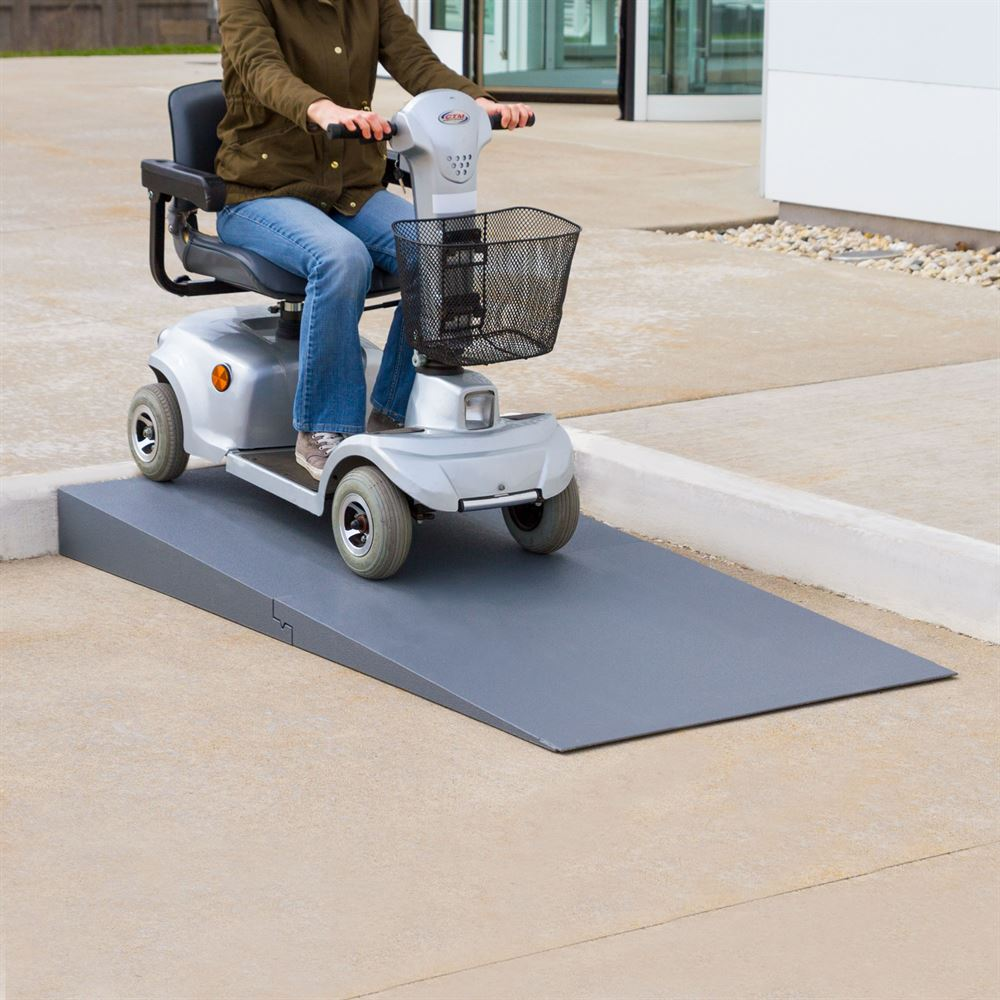 THFS-ADA Silver Spring Foam Threshold Ramp - 1500 lb Capacity - ADA Compliant 2