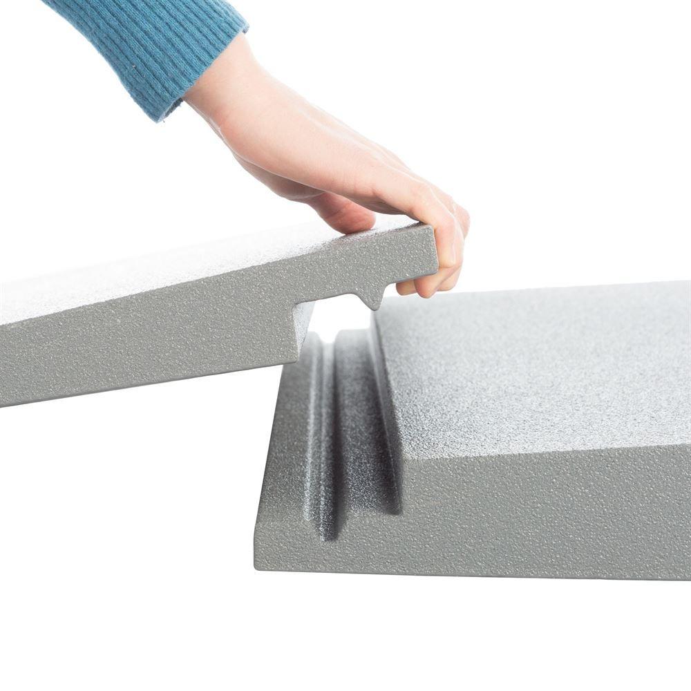 THFS-ADA Silver Spring Foam Threshold Ramp - 1500 lb Capacity - ADA Compliant 5