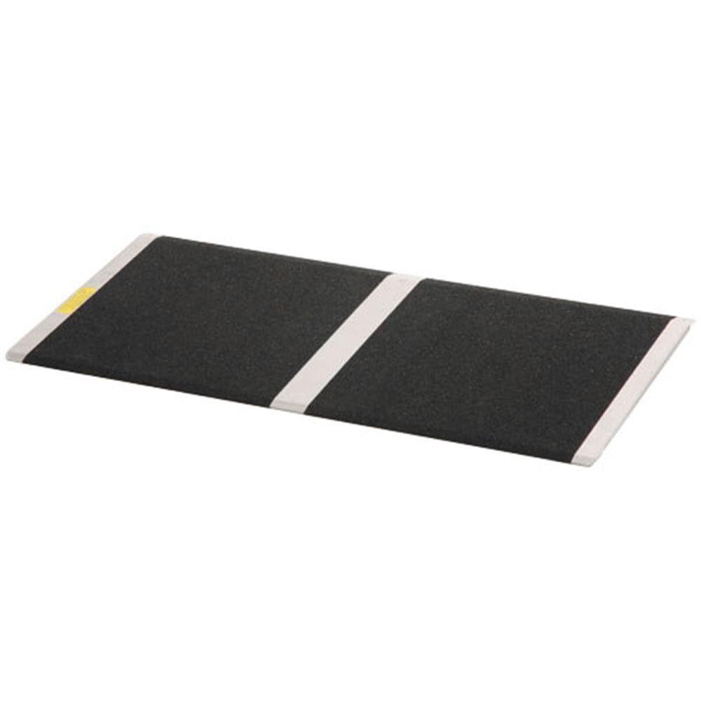 THR832 8 L x 32 W - PVI Aluminum Solid Threshold Ramp