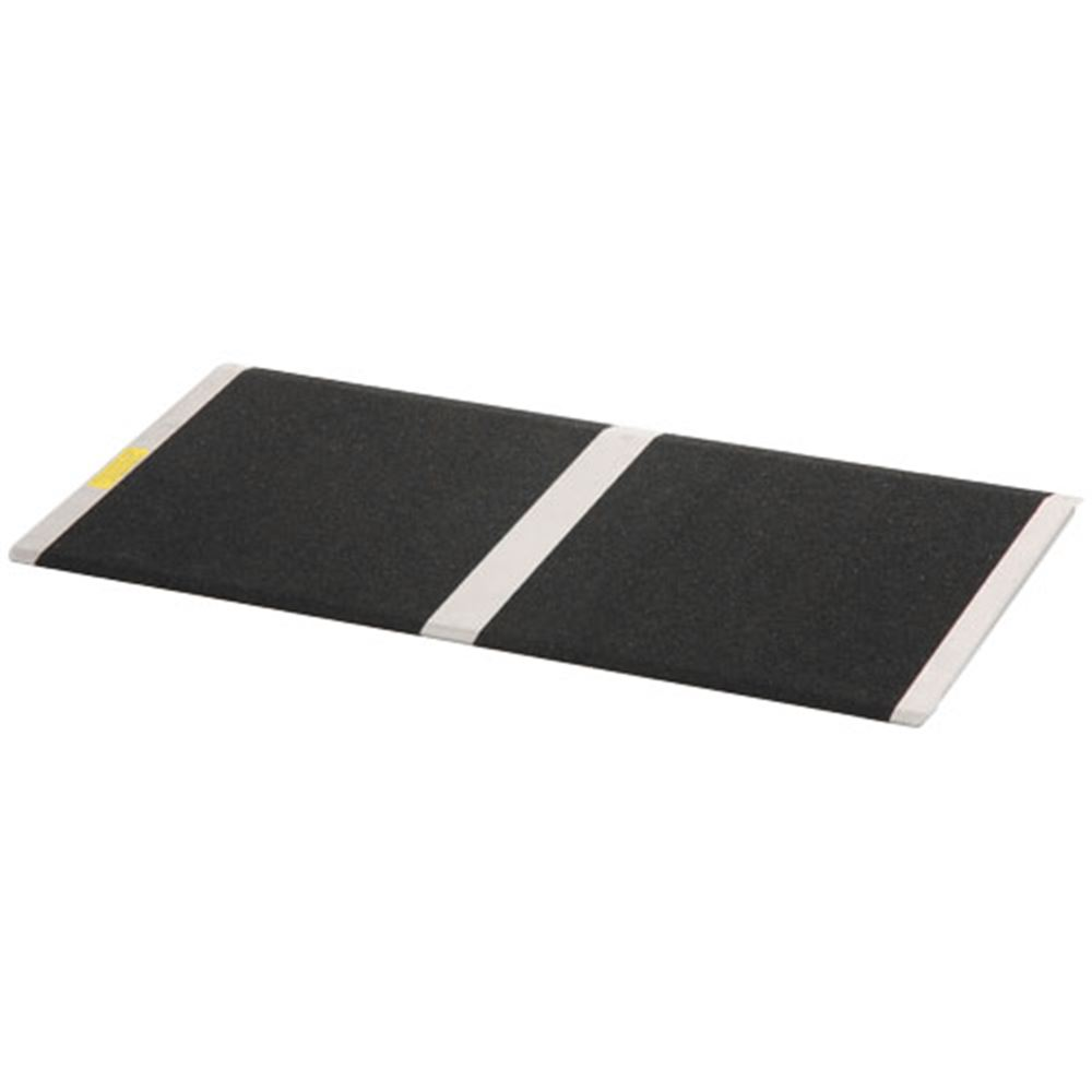 THR832 8 L x 32 W - PVI Aluminum Solid Threshold Ramp