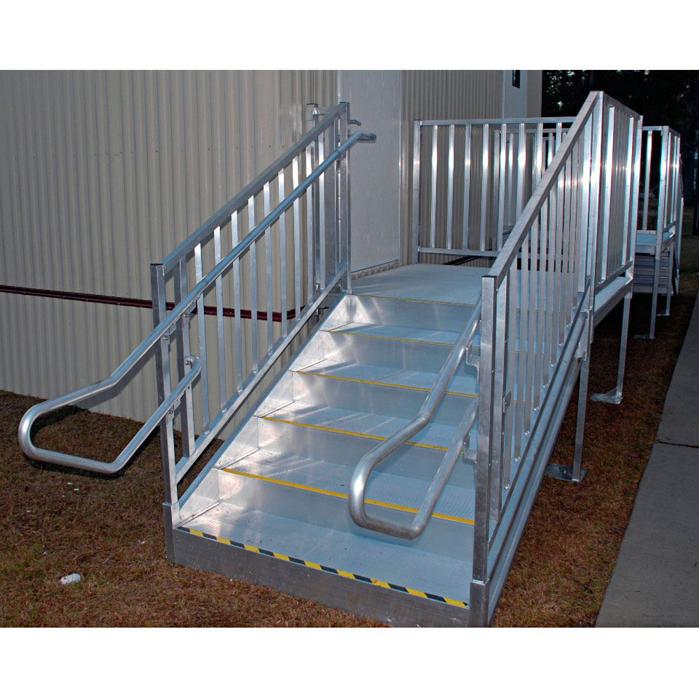 Ez access titan modular ramp systems discount ramps for Prefab wheelchair ramp