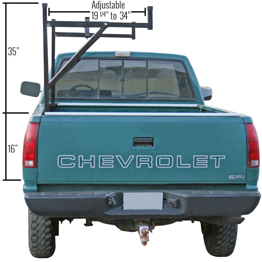 Apex Steel Side Mount Utility Rack Discount Ramps
