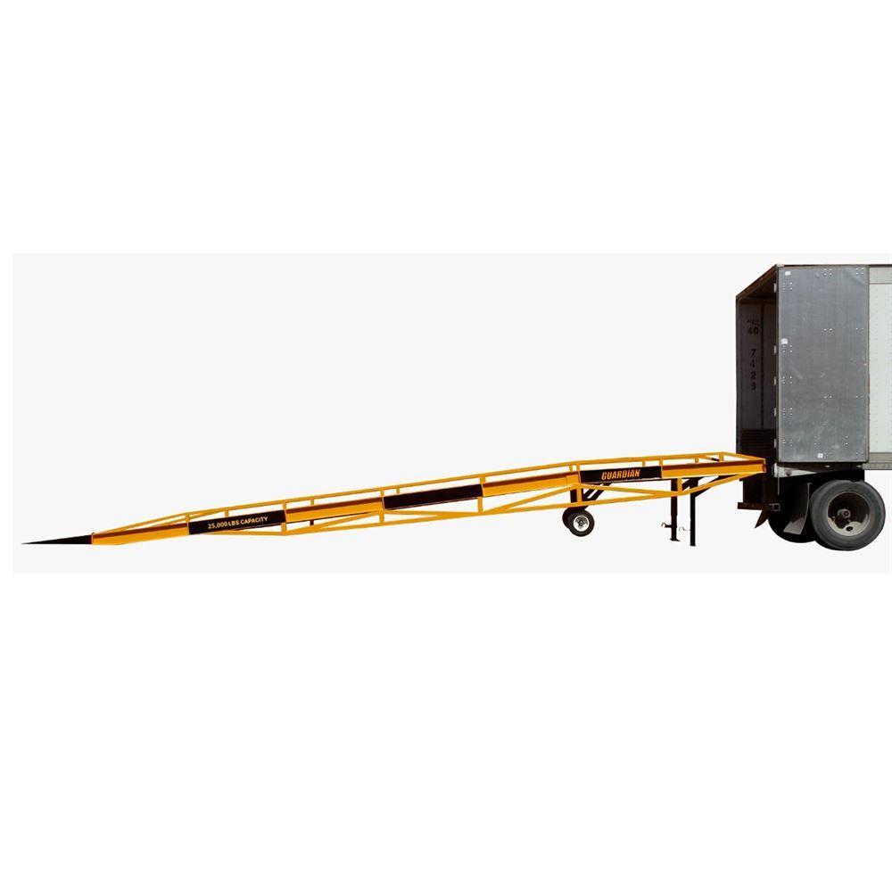 TMD22DR Guardian Mobile Yard Ramp - 27000 lb Capacity