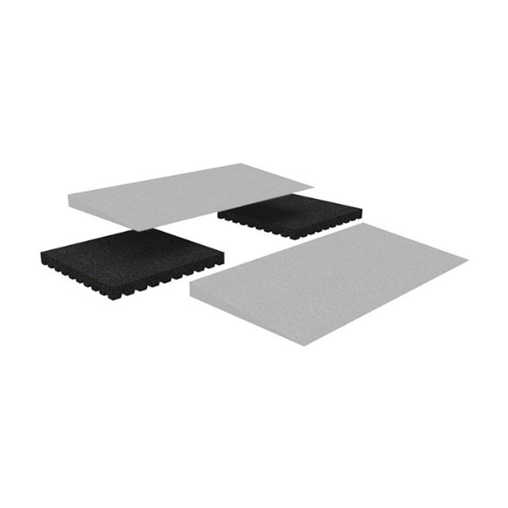 TMEMR225 25 Riser Set for EZ-ACCESS TRANSITIONS Rubber Modular Entry Mat