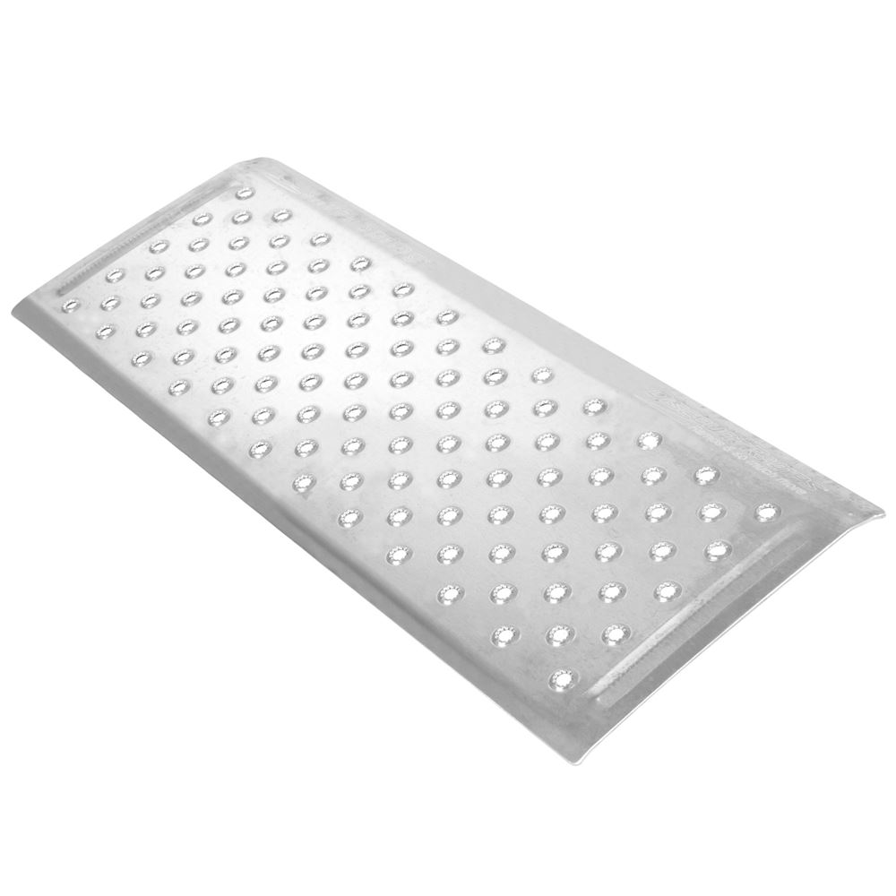 TR3212 12 L x 32 W - Silver Spring Aluminum EZ-Traction Threshold Ramps