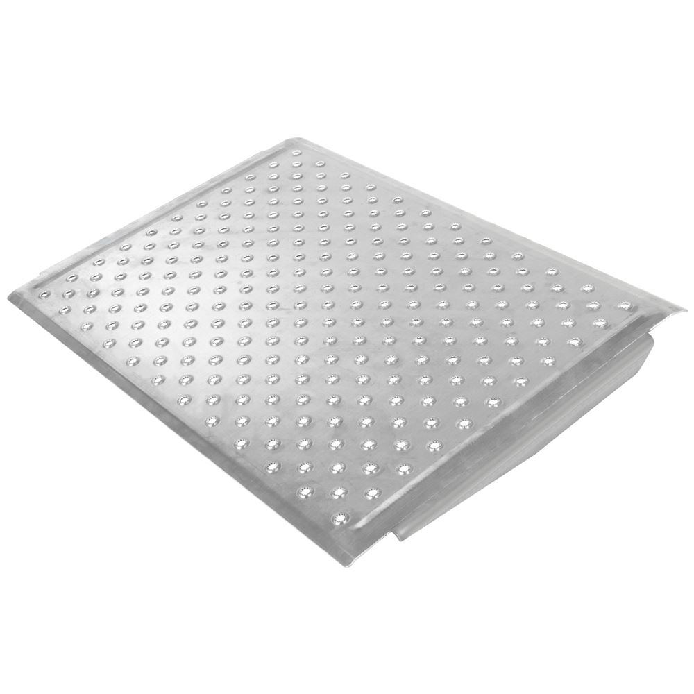 TR3224 24 L x 32 W - Silver Spring Aluminum EZ-Traction Threshold Ramps