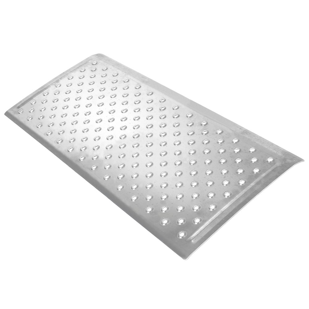 TR3616 16 L x 36 W - Silver Spring Aluminum EZ-Traction Threshold Ramps
