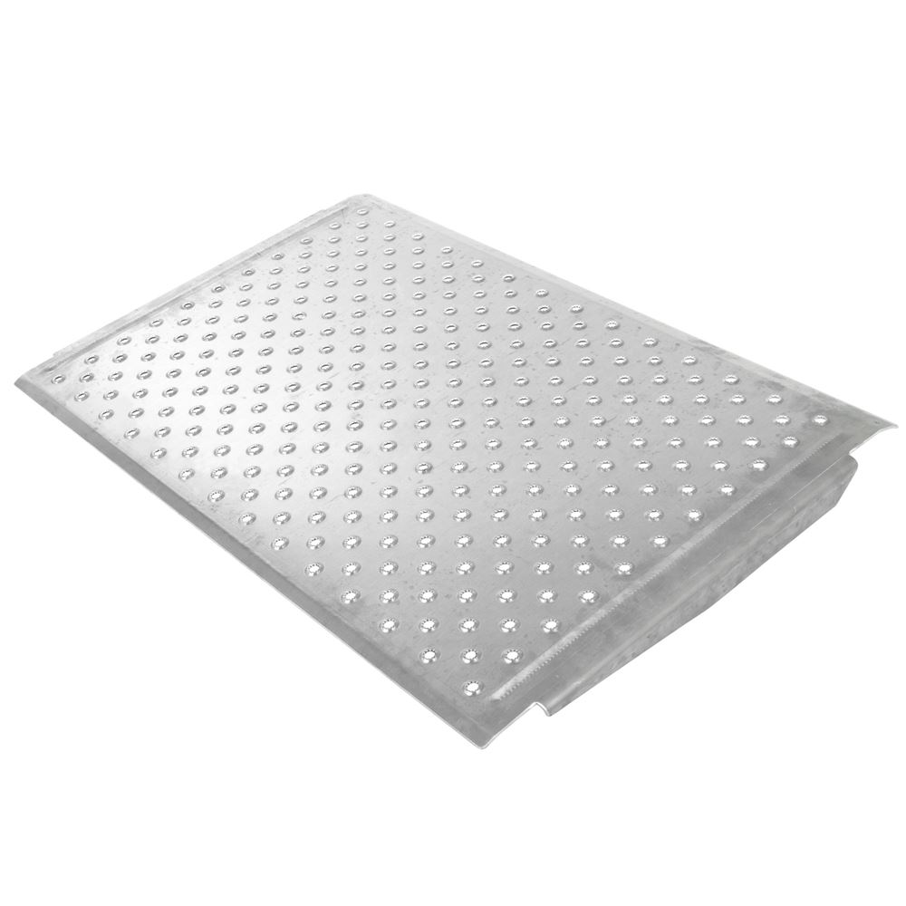 TR3624 24 L x 36 W - Silver Spring Aluminum EZ-Traction Threshold Ramps