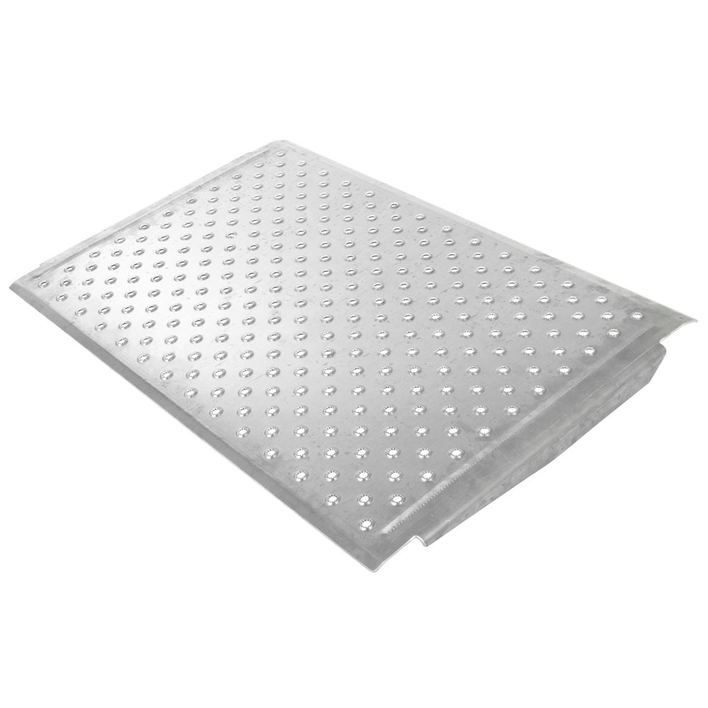 TR3624C 24 L x 36 W - Aluminum EZ-Traction Curb Ramp