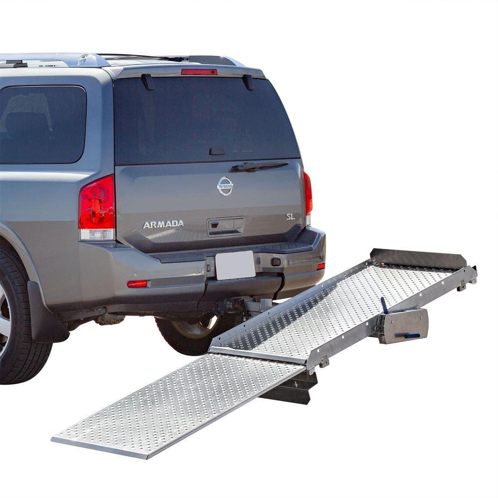 TWSC-350 Tilt-a-Rack Premium Aluminum Scooter and Wheelchair Carrier  350 lb Capacity