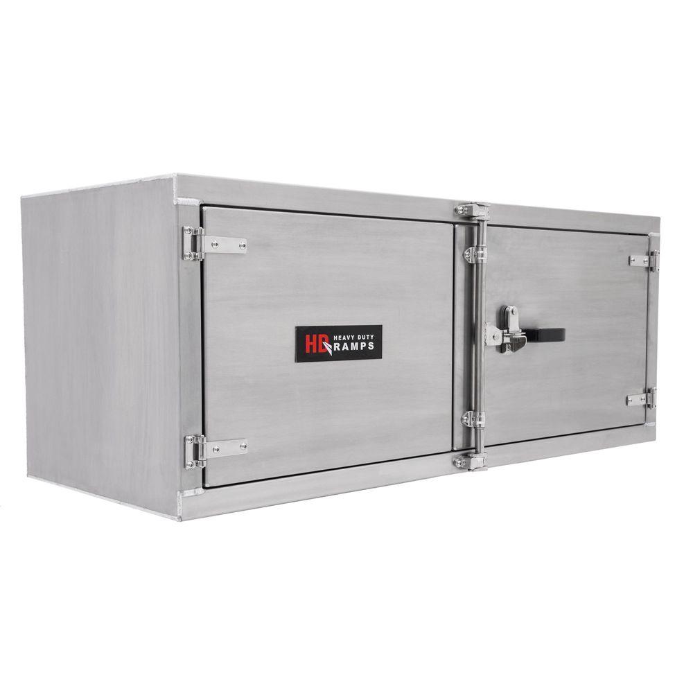 TrailerToolBoxes HD Ramps Lockable Underbody Trailer Tool Cabinets