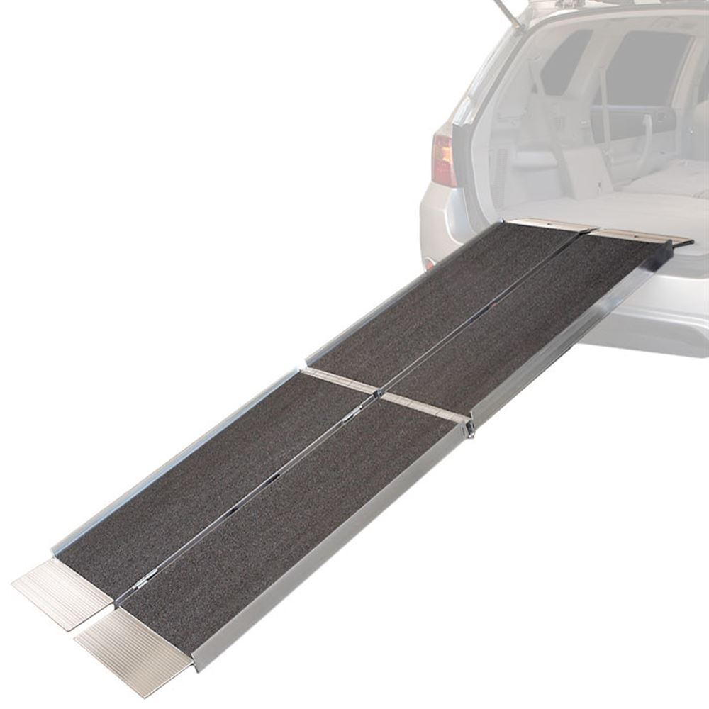 Trifold-6-AS 6 L EZ-ACCESS SUITCASE Trifold AS Aluminum Wheelchair Ramp