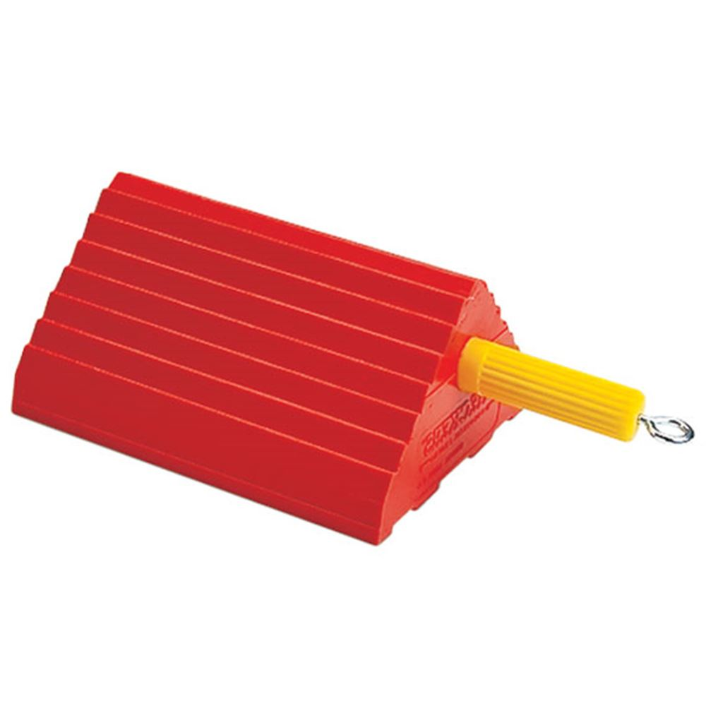 UC1400-45 30000 lb Capacity - Checkers Urethane Industrial Wheel Chock