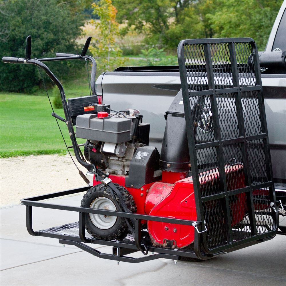 Delightful UCC500 Apex Steel Basket Cargo Carrier With Ramp 1