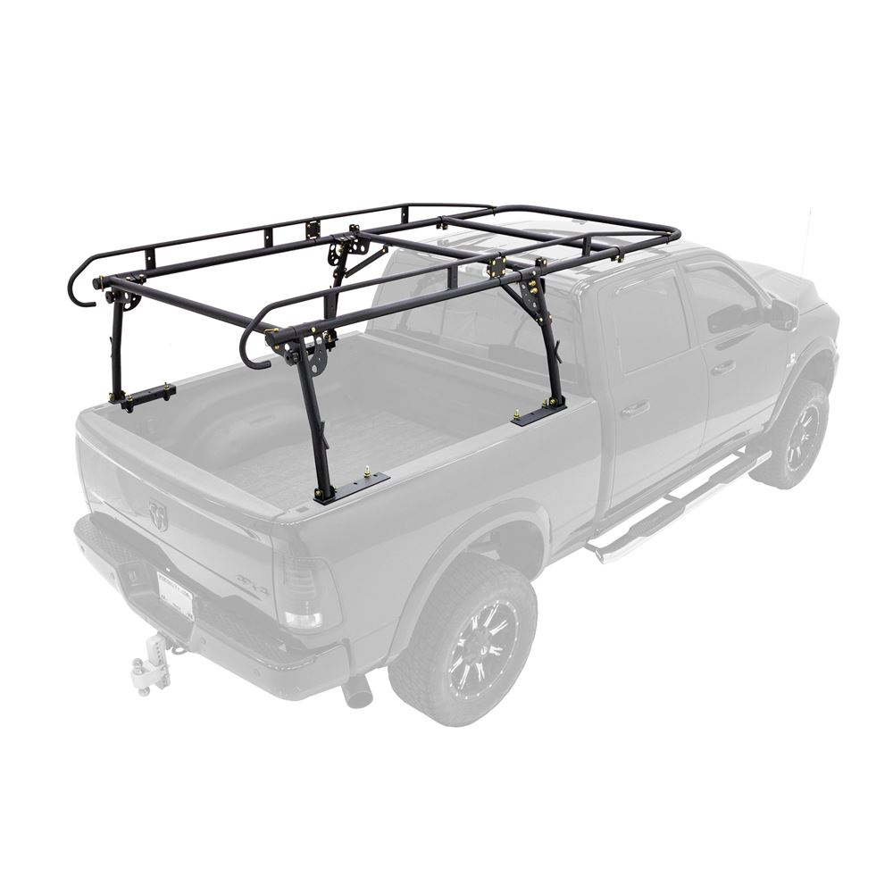 Apex Heavy-Duty No-Drill Steel Over-Cab Truck Rack with Cleats