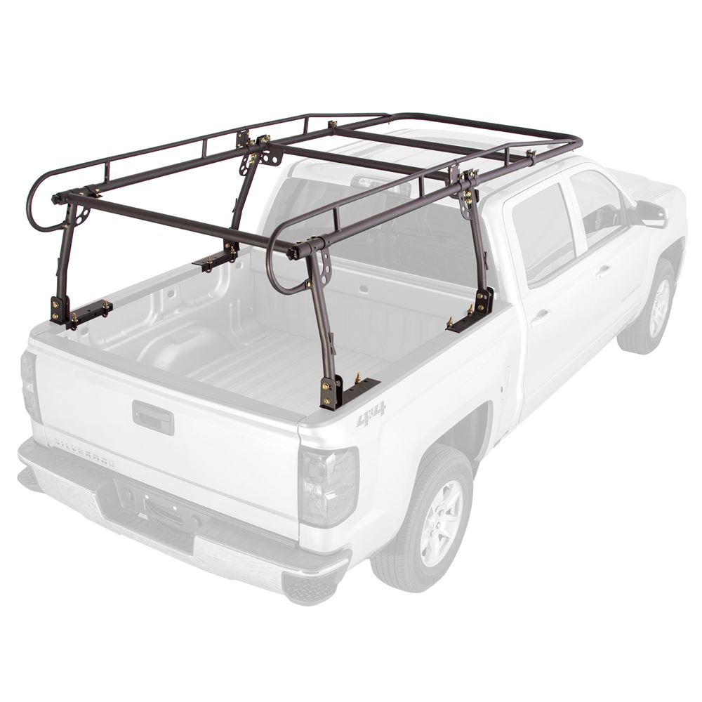 Aluminum 800Lb Pickup Truck Utility Ladder Rack Contractor Lumber Adjustable