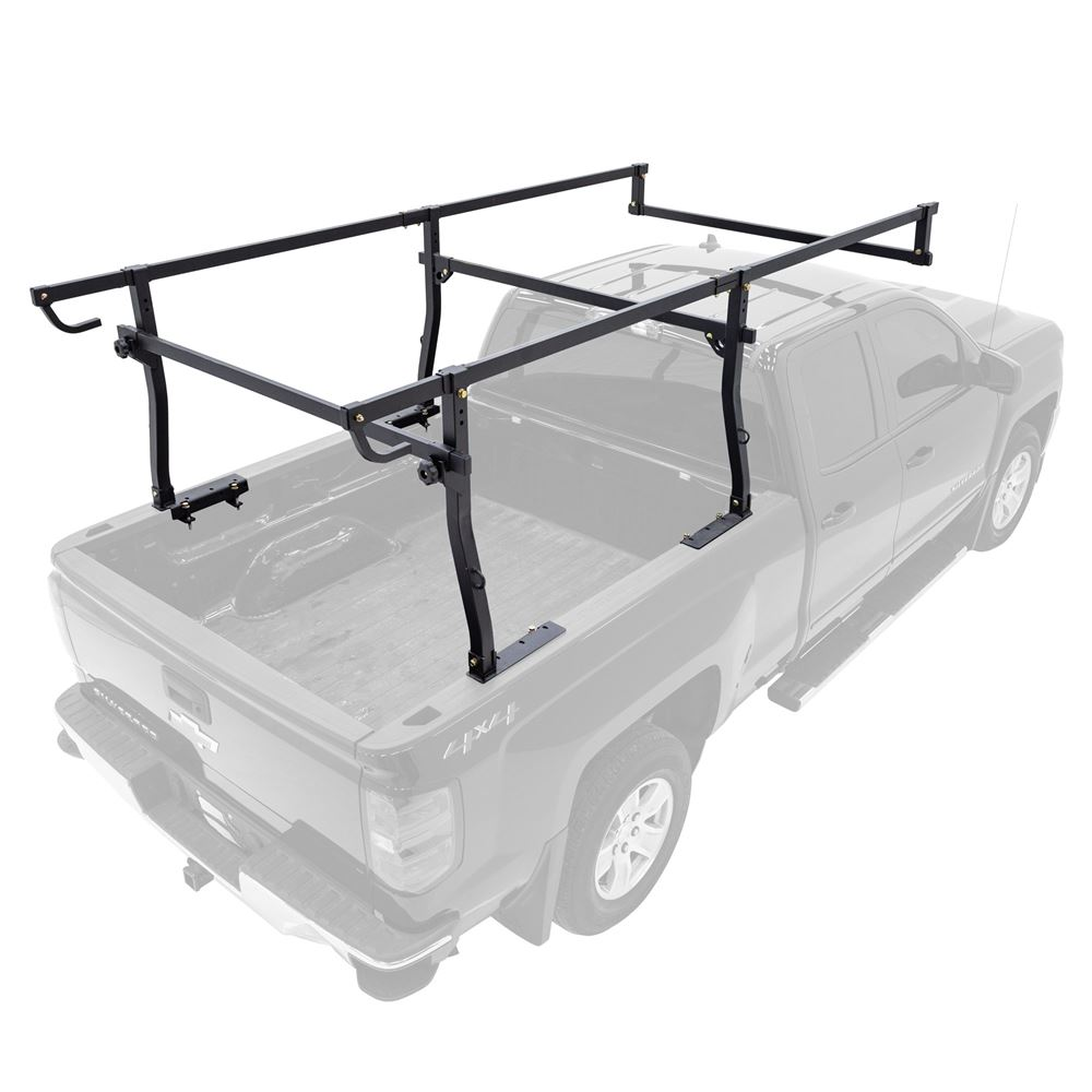 Apex No-Drill Steel Over-Cab Truck Rack with D-Loops