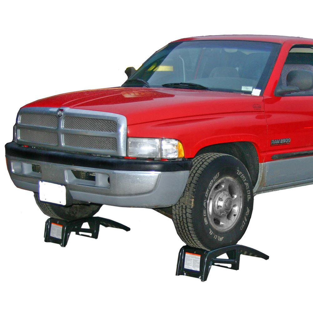 UR00-Service-Ramp The Tru-Cut Ultra-Ramps Steel Truck Service Ramps are ideal for easily raising most trucks cars or SUVs for service and maintenance These ramps feature a stamped steel structure with heavy-duty raised grip holes for extra traction and are available wi