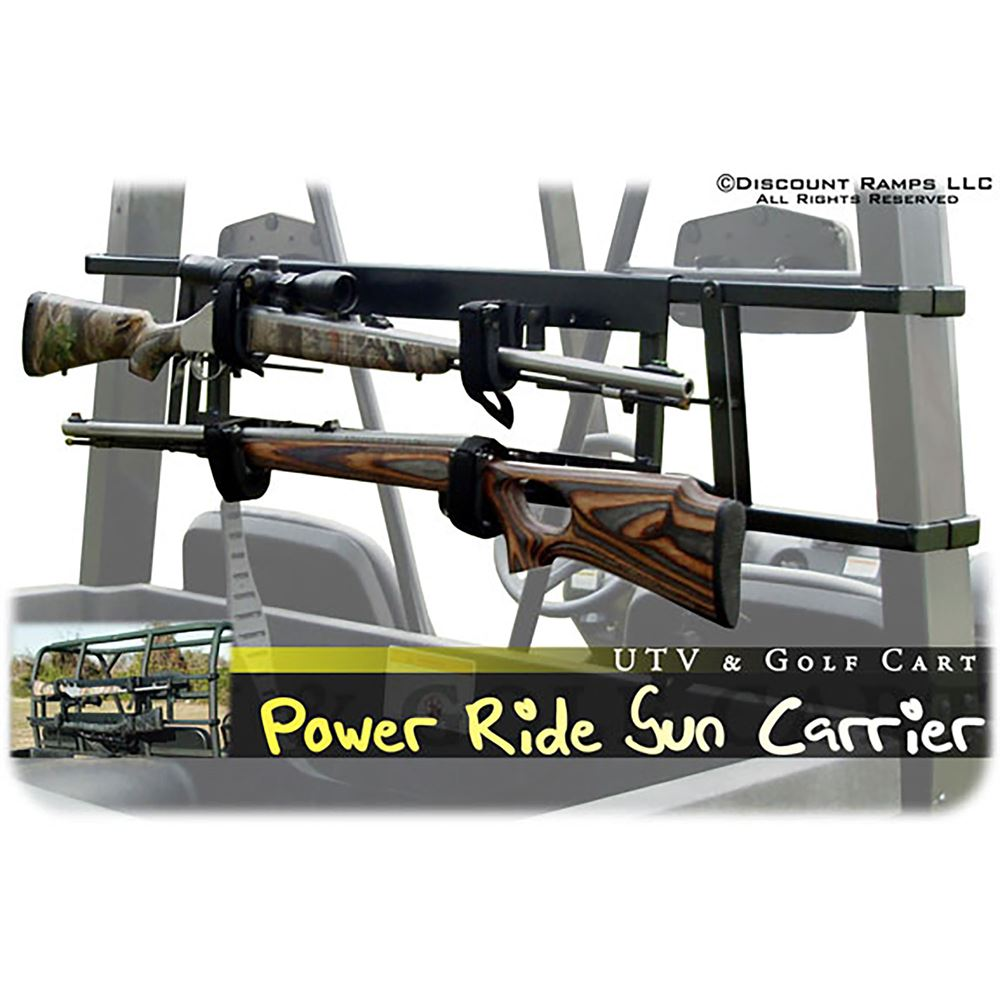 Great Day Power-Ride Golf Cart Gun Rack | Discount Ramps on golf carts for street use, bow rack, trailer gun rack, utv gun rack, automotive gun rack, honda gun rack, golf carts with guns, atv gun rack, horse gun rack, home gun rack, ezgo gun rack, rv gun rack, sedan gun rack,
