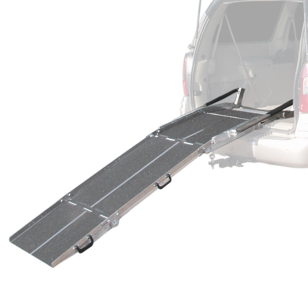 VAN27-Ramp PVI Aluminum Multi-Fold Rear Door Wheelchair Van Ramp