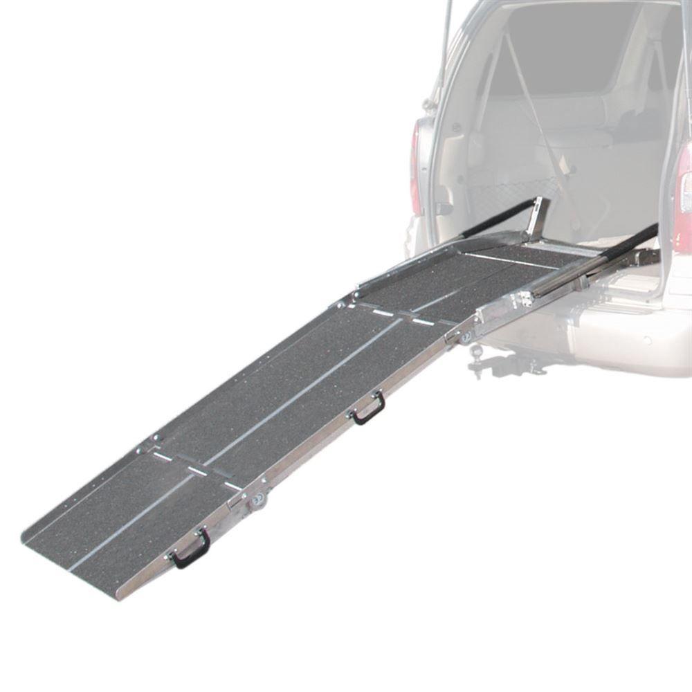VAN27-Ramp PVI Aluminum Multi-Fold Rear Door Wheelchair Van Ramp