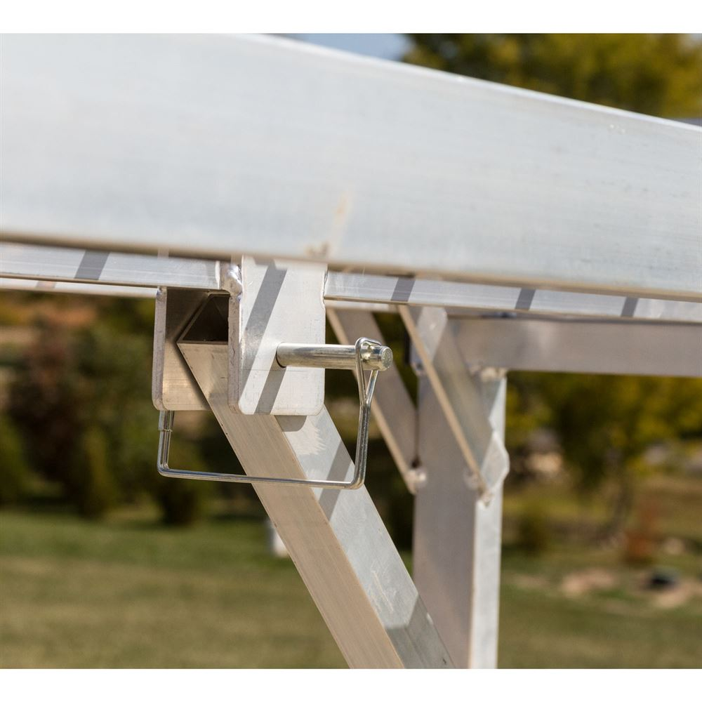 Aluminum Folding Ramps >> Aluminum ATV and Lawn Tractor Stand - 1,800 lb. Capacity ...