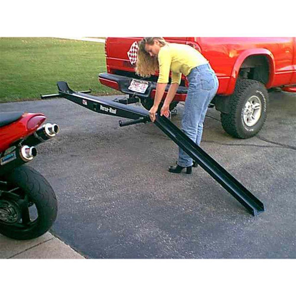 VersaHaul Steel Motorcycle Carrier - 500 lb  Capacity