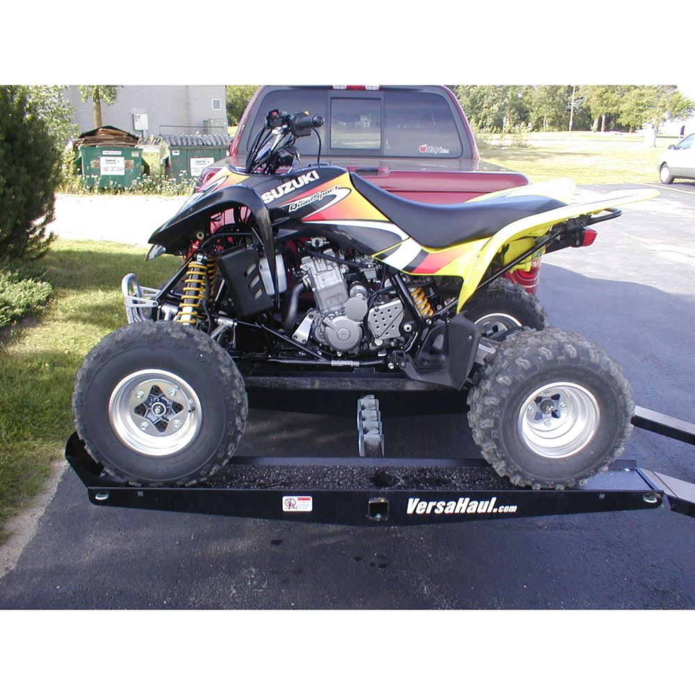VersaHaul Hitch Mounted ATV Carrier with Loading Ramp | Discount Ramps