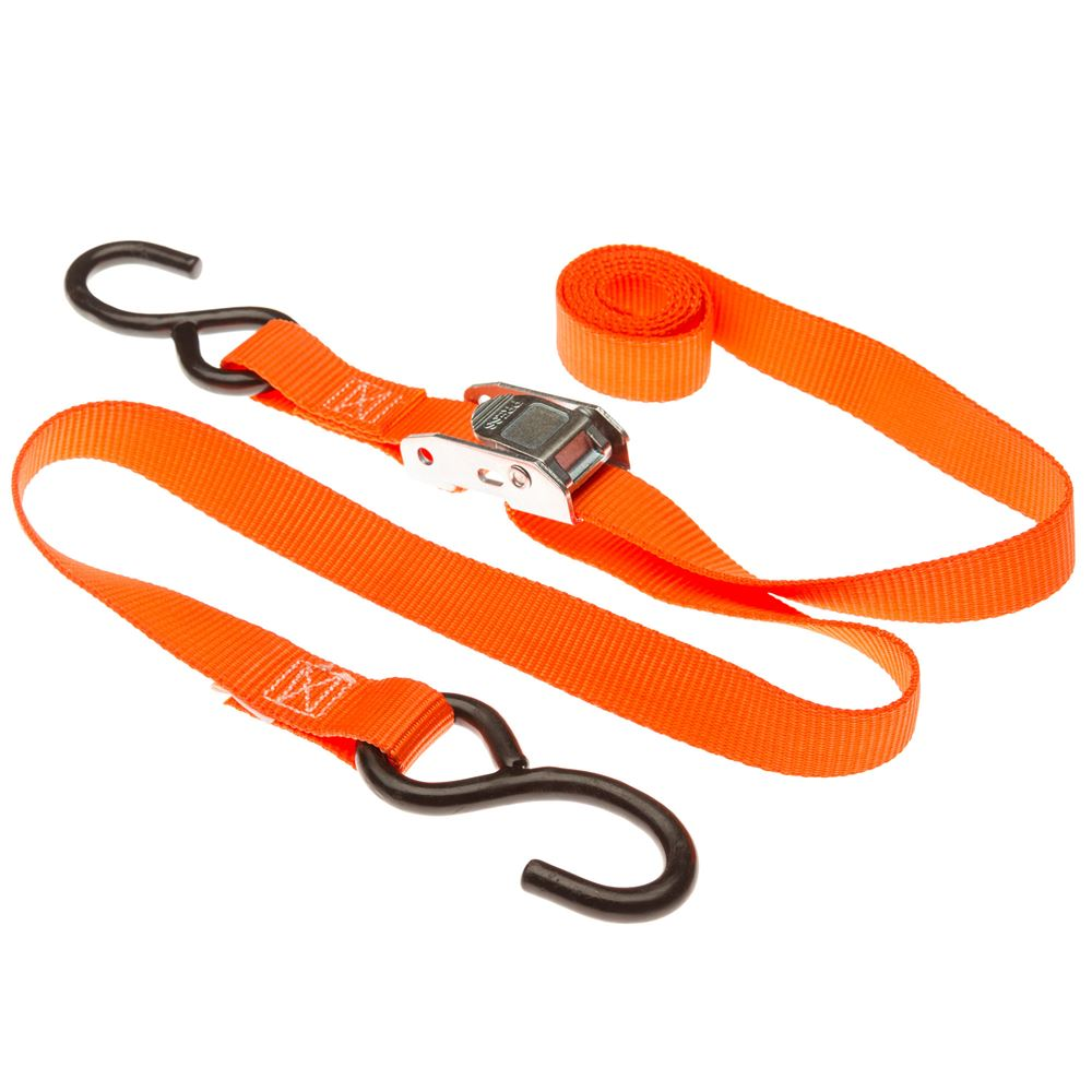 VH-Strap-C6 1 x 6 Cam Buckle Straps with S-Hooks
