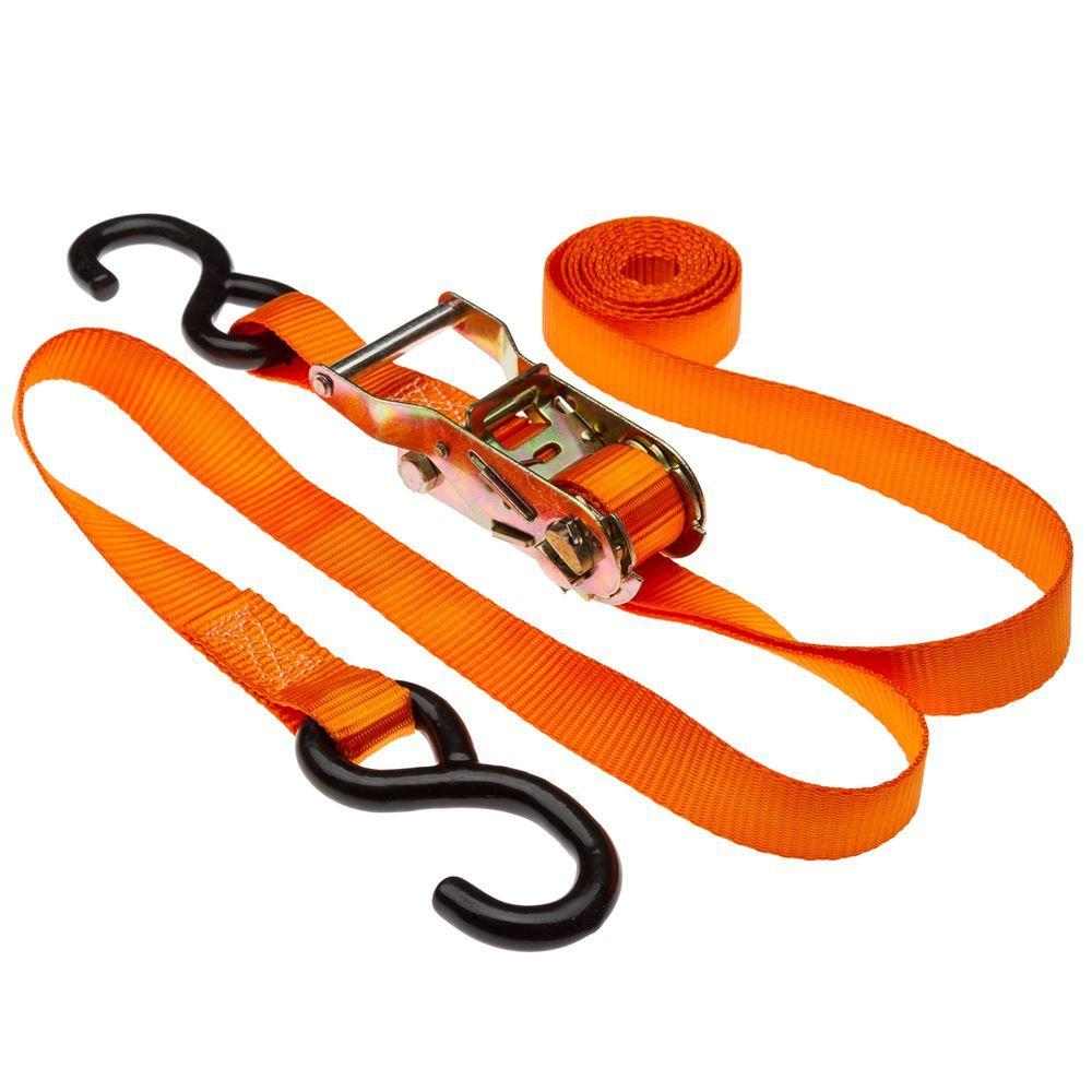 VH-Strap-R10 1 x 10 Ratchet Straps with S-Hooks