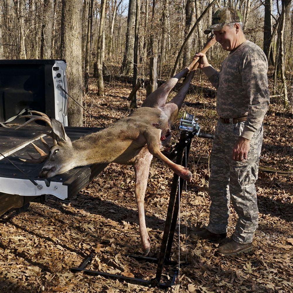 Viking Solutions L-E-Vator Portable Deer Lift | Discount Ramps on bus deer stand, wheelchair deer stand, golf cart deer lift,