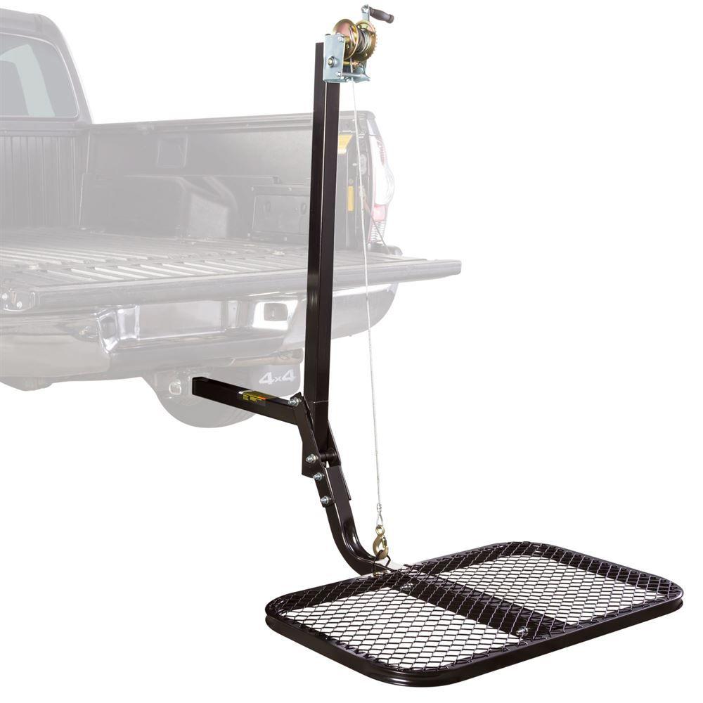 VKS-VSL001 Viking Solutions 300 lbs Capacity SwiveLift Steel Hitch-Mounted Lift