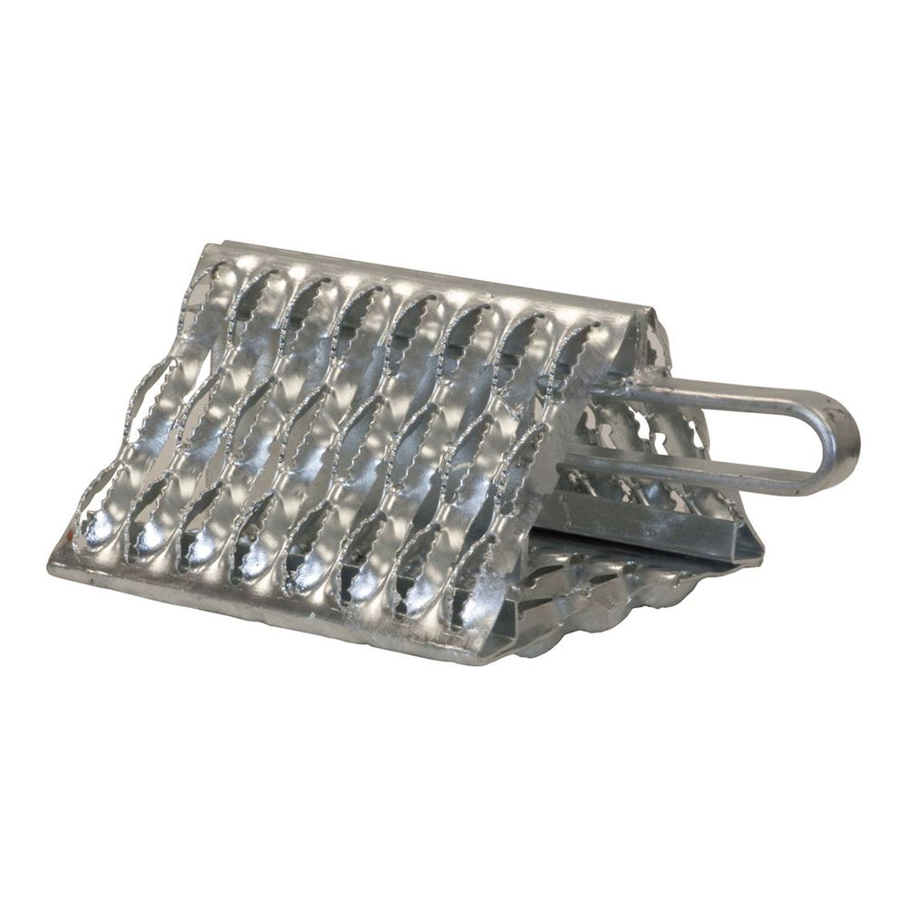 WC091060 Buyers Products Carbon Steel Serrated Wheel Chock