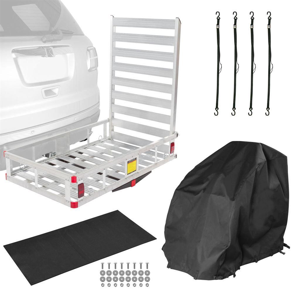 WCC500A-EK-WC Power Chair - Silver Spring Aluminum Essential Travel Kit - 500 lb Capacity
