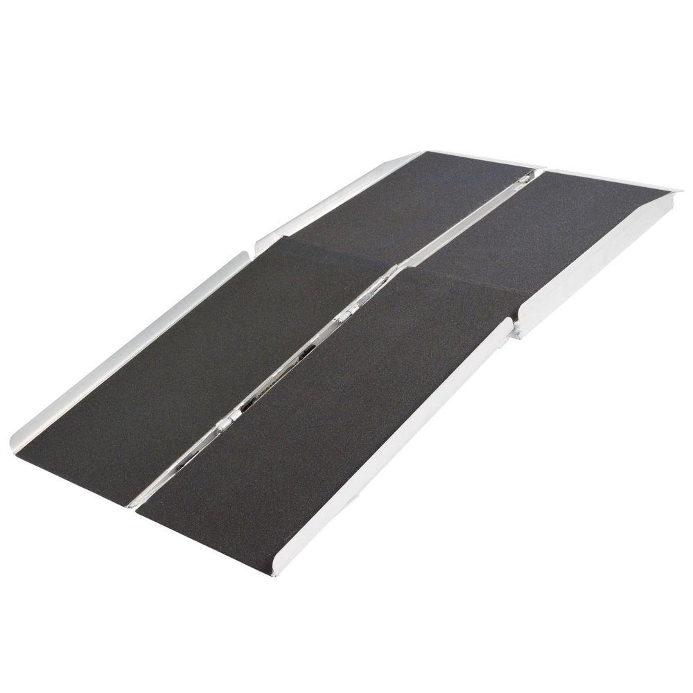 WCMF Silver Spring Aluminum Multi-Fold Wheelchair Ramp - 600 lb Capacity
