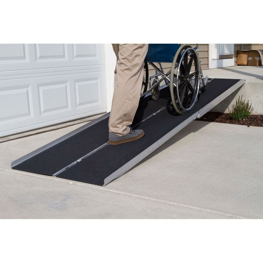 WCMF Silver Spring Multi-Fold Wheelchair Ramp - 600 lb Capacity 1