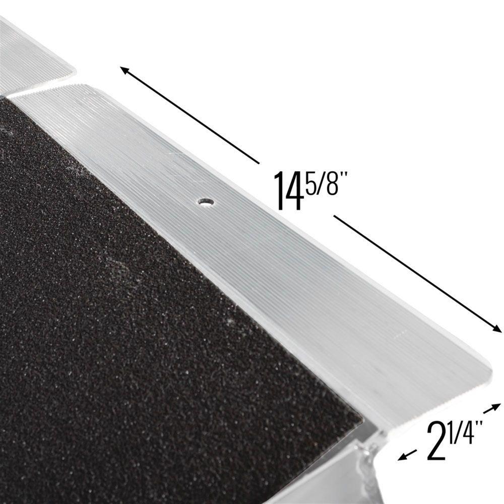 WCMF Silver Spring Aluminum Multi-Fold Wheelchair Ramp - 600 lb Capacity 4