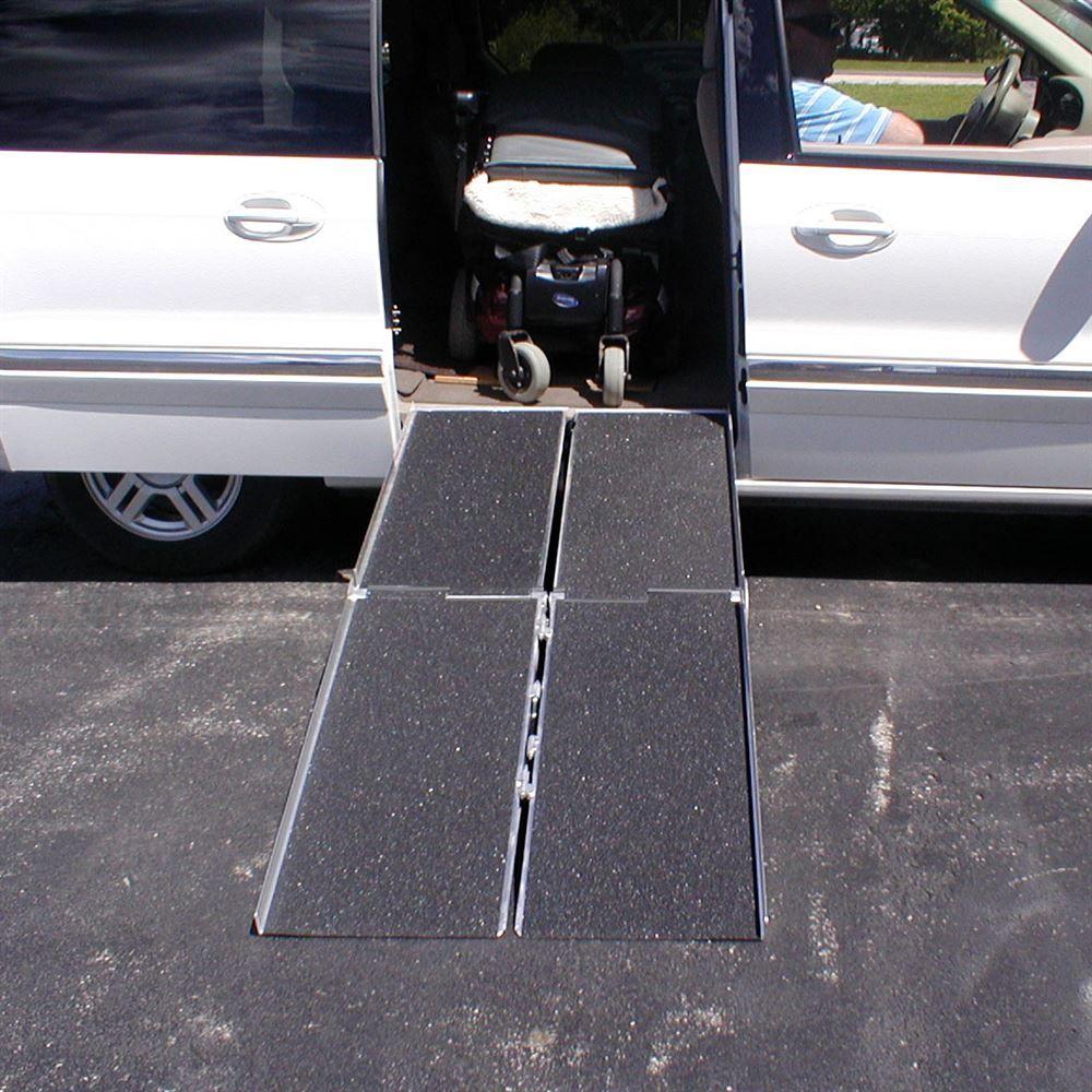 WCR PVI Multi-Fold Wheelchair Ramp 5